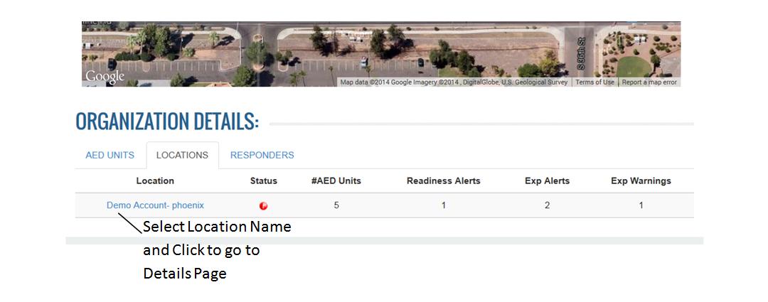 How do I view my Location Address?